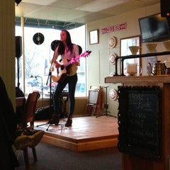 Photo taken at Quincy's Cafe & Espresso by Manda H. on 4/19/2013