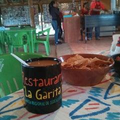 Photo taken at La Garita by Tanos Leonardo G. on 12/30/2012