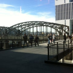 Photo taken at S Hackerbrücke by Giorgos M. on 3/8/2013