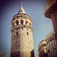 Photo taken at Galata Kulesi by Renato G. on 7/5/2013