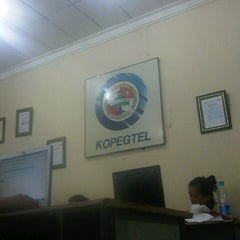 Photo taken at Kopegtel Telkom by Apriyanto D. on 12/11/2012