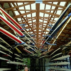 Photo taken at Texas Rowing Center by Joseph V. on 7/14/2013