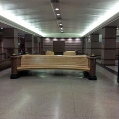 Photo taken at RTA Tower City - Public Square Rapid Station by Michele M. on 10/9/2013