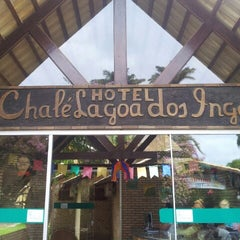 Photo taken at Hotel Chalé Lagoa dos Ingás by Juscelino A. on 6/21/2013