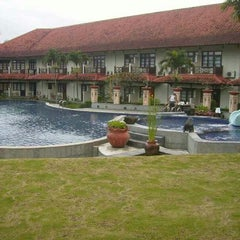 Photo taken at Hotel Tirta Sanita by Indra A. on 1/21/2015