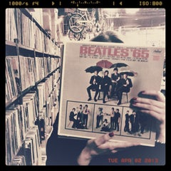 Photo taken at Record Archive by Nick C. on 4/3/2013