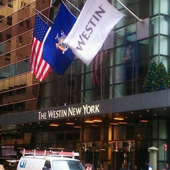 Photo taken at The Westin New York at Times Square by Rob C. on 12/5/2012