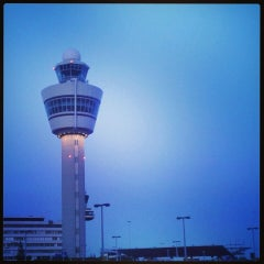 Photo taken at Amsterdam Airport Schiphol (AMS) by Peertje P. on 7/2/2013