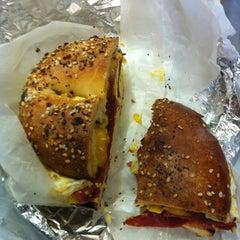 Photo taken at NY Bagels & Cafe by Scott K. on 12/2/2012