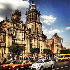 Photo taken at Catedral Metropolitana de la Asunción de María by Oscar B. on 3/1/2013