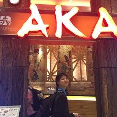Photo taken at AKA (อากะ) by Qk. on 12/24/2015