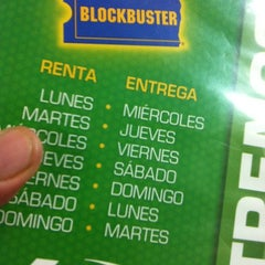 Photo taken at Blockbuster by Arturo R. on 10/7/2012