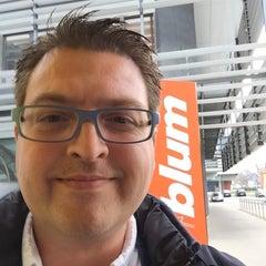 Photo taken at Julius Blum GmbH Werk 2 (Zentralwerk) by Johan B. on 11/21/2014