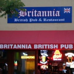 Photo taken at The Britannia Pub by Arthur B. on 10/31/2012