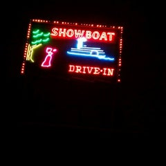 Photo taken at Showboat Drive-In by Judy S. on 11/18/2012