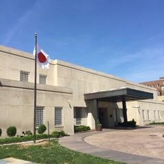 Photo taken at Embassy of Japan by Clayton B. on 5/24/2015