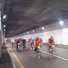 Photo taken at Namsan Tunnel 3 by Siegfrid on 10/4/2015