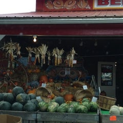 Photo taken at Bergman Orchards by Katie J. on 10/4/2012
