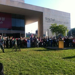 Photo taken at National Constitution Center by NBC Philadelphia on 9/17/2012