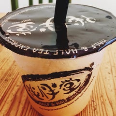 Photo taken at Half & Half Tea Express 伴伴堂 by Brenda C. on 6/22/2015