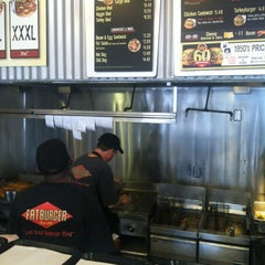 Photo taken at Fatburger by David V. on 10/8/2012