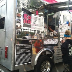 Photo taken at Coolhaus Truck by David V. on 10/21/2012