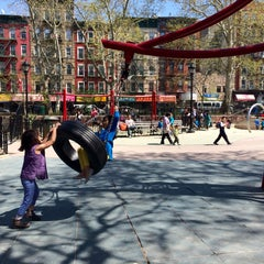 Photo taken at Hester Street Playground by Jonathan P. on 5/2/2015