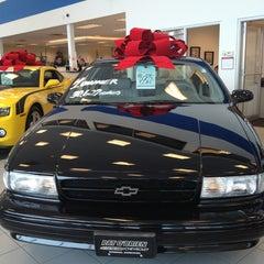 Photo taken at Pat O'Brien Chevrolet by Julian K. on 12/29/2012