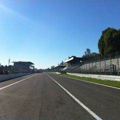 Photo taken at Autodromo Nazionale di Monza by Riccardo M. on 10/16/2012