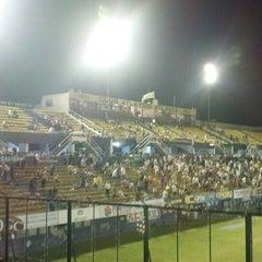 Photo taken at Estadio Don León Kolbowski - Club Atlético Atlanta by Alejandro F. on 12/8/2013