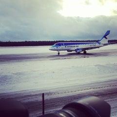 Photo taken at Tallinn Airport (TLL) by Mark-Julius P. on 12/27/2012