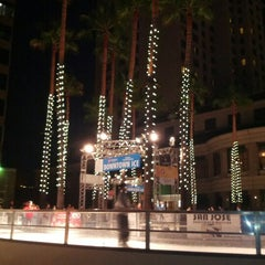Photo taken at Downtown Ice by Luis B. on 11/24/2012