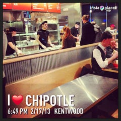 Photo taken at Chipotle Mexican Grill by Amanda A. on 2/17/2013