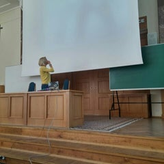 Photo taken at Akademia Morska w Gdyni by Onur Sezgin A. on 5/25/2015