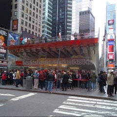 Photo taken at TKTS by Alex R. on 11/24/2012