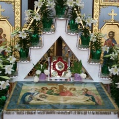 Photo taken at Ukrainian Catholic Church of Epiphany by Lesia T. on 4/11/2015