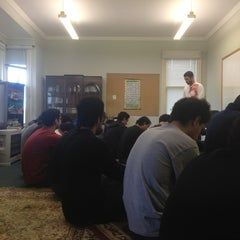 Photo taken at Student Islamic Centre by Dribblack A. on 8/16/2013