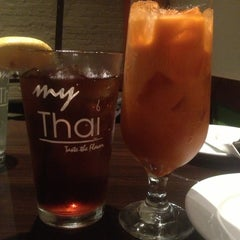 Photo taken at My Thai by Michelle S. on 10/11/2013