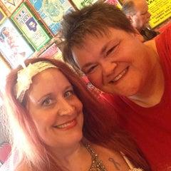 Photo taken at River Rock Cafe Inc by Kris P. on 8/16/2015