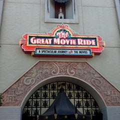 Photo taken at The Great Movie Ride by Soamazen on 10/30/2012