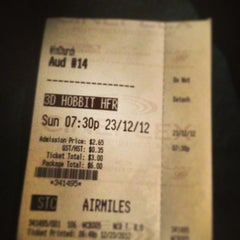 Photo taken at Cineplex Odeon Winston Churchill Cinemas by David C. on 12/24/2012