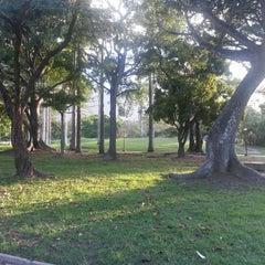 Photo taken at Parque Generalísimo Francisco de Miranda by Reinaldo R. on 5/9/2013