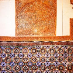 Photo taken at Saadian Tombs   قبور السعديين by Johan A. on 6/23/2015