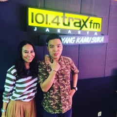 Photo taken at 101.4 Trax FM by Riana B. on 9/9/2015