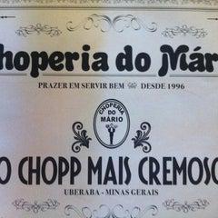 Photo taken at Choperia do Mário by Murillo C. on 2/11/2013