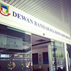 Photo taken at Dewan Bandaraya Kota Kinabalu by Sebastian on 12/16/2012