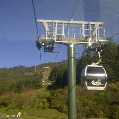 Photo taken at Skyline Rotorua Gondola by Yunhai J. on 5/28/2013