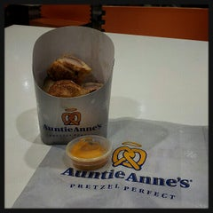 Photo taken at Auntie Anne's by Huey M. on 12/26/2012