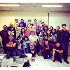 Photo taken at Fakultas Ilmu Sosial dan Ilmu Politik by Arie R. on 5/26/2014