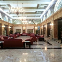 Photo taken at The Congress Plaza Hotel by Chris B. on 9/19/2012